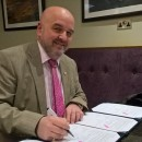 JLT signing UniCaen agreement 19 03 2019 in Guernsey